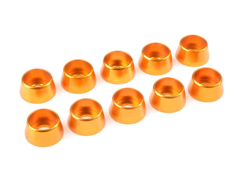 Corally podložka pod vál. šroub M5 12mm hliník zlatá (10) C-31290