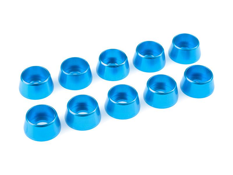 Corally podložka pod vál. šroub M5 12mm hliník modrá (10) C-31294