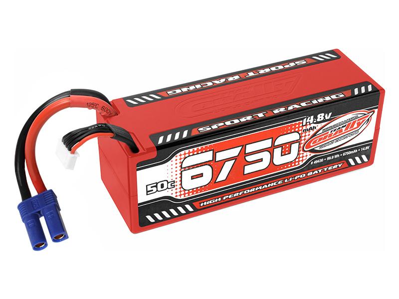 Corally LiPo Sport Racing 14.8V 6750mAh 50C EC5