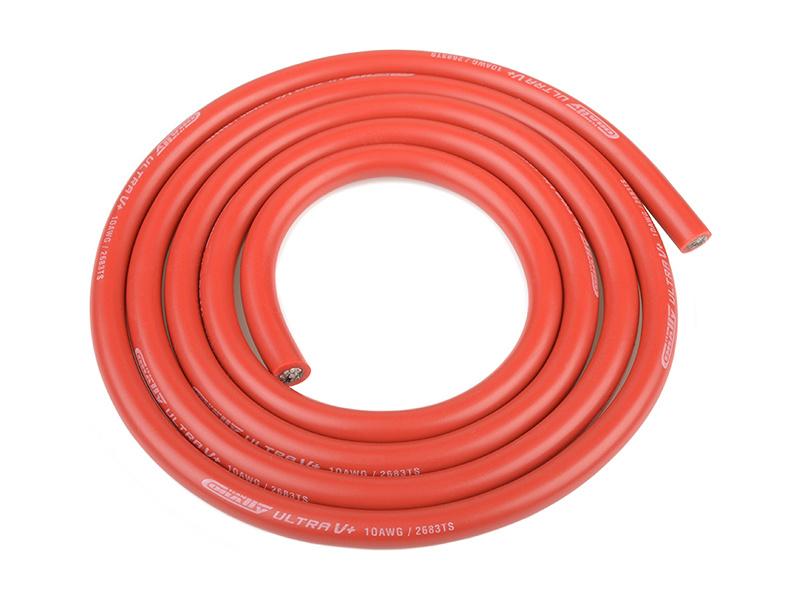 Corally silikonový kabel Super Flex 10AWG červený (1m) C-50105