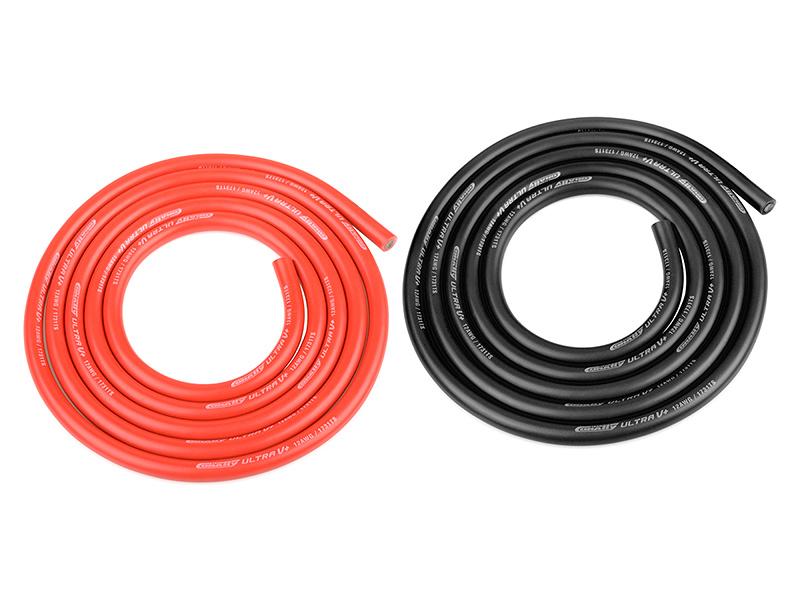Corally silikonový kabel Super Flex 12AWG červený + černý (1m) C-50112