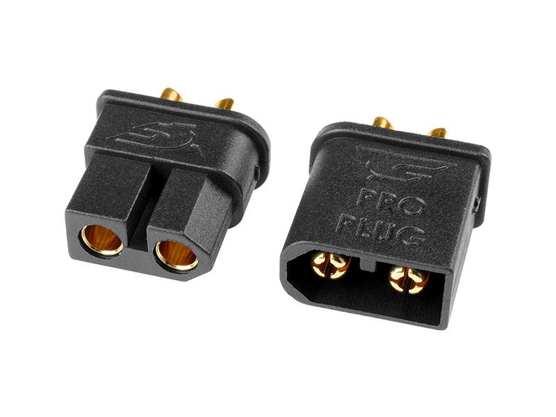 Corally zlacený konektor TC PRO 3.5mm (1 pár) C-50180