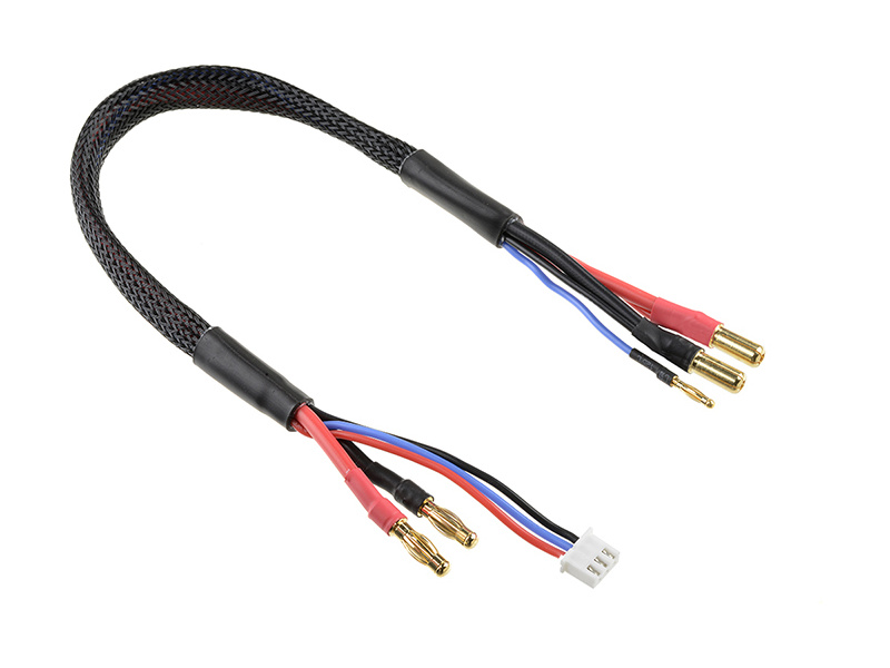 Corally nabíjecí kabel s banánky a 2S XH -> 5mm/2mm 30cm C-50293