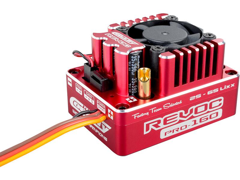 Corally regulátor Car Revoc Pro 160 1:8 2-6S C-53004