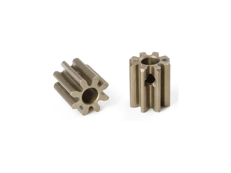 Corally pastorek 32DP krátký 8T 3.17mm C-71508