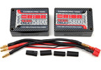Team Orion LiPol Carbon Pro 7.4V 5800mAh 100C Tubes