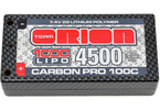 Team Orion LiPol Carbon Pro 7.4V 4500mAh 100C Shorty