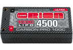 Team Orion LiPol Carbon Pro 7.4V 4500mAh 100C Tubes