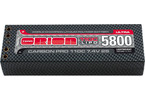 Team Orion LiPol Carbon Pro 7.4V 5800mAh 110C Tubes