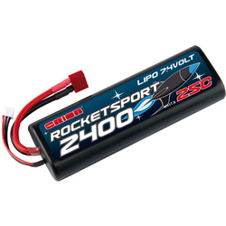 Team Orion LiPol Rocket Sport 2400mAh 7.4V Deans