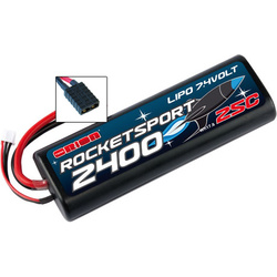 Team Orion LiPol Rocket Sport 2400mAh 7.4V Traxxas