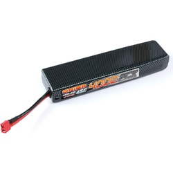 Team Orion LiPol Carbon FLX 4000mAh 7.4V 45 Deans