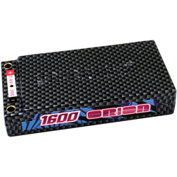 Team Orion LiPol Sports 1600mAh 7.4V 30C Tubes