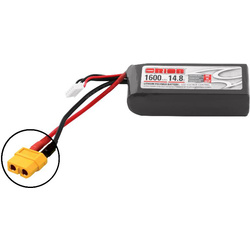 Team Orion LiPol 1600mAh 4S 14.8V 50C XT60 LED