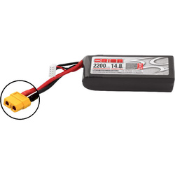 Team Orion LiPol 2200mAh 4S 14.8V 50C XT60 LED