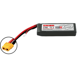 Team Orion LiPol 2700mAh 3S 11.1V 50C XT60 LED