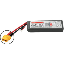 Team Orion LiPol 3500mAh 3S 11.1V 50C XT60 LED