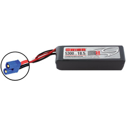 Team Orion LiPol 5300mAh 5S 18.5V 50C EC3 LED