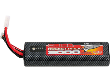 Team Orion LiPol V-Max 3000mAh 7.6V 55C LED Tamiya / ORI14078