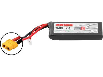 Team Orion LiPol 1600mAh 2S 7.4V 50C XT60 / ORI60144