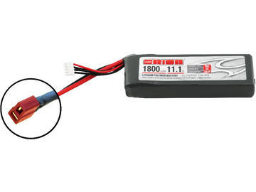 Team Orion LiPol 1800mAh 3S 11.1V 50C Deans LED / ORI60148