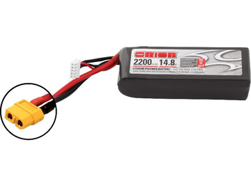 Team Orion LiPol 2200mAh 4S 14.8V 50C XT60 LED / ORI60164