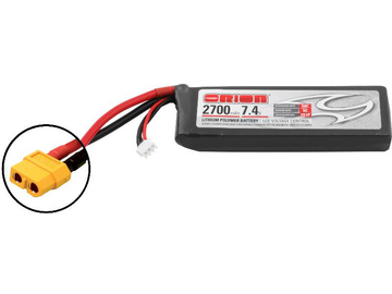 Team Orion LiPol 2700mAh 2S 7.4V 50C XT60 LED / ORI60171
