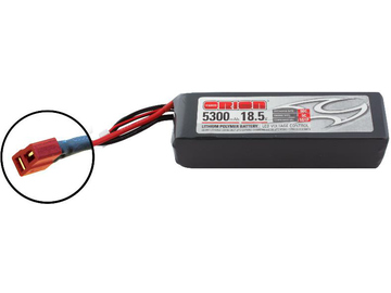 Team Orion LiPol 5300mAh 5S 18.5V 50C Deans LED / ORI60204