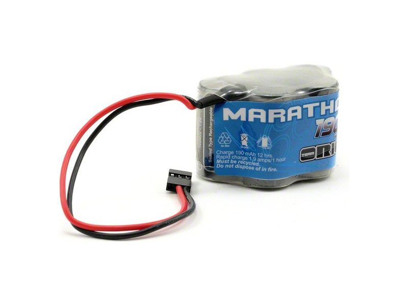Team Orion NiMH Marathon XL 6.0V 1900mAh Rx Hump JR ORI12254