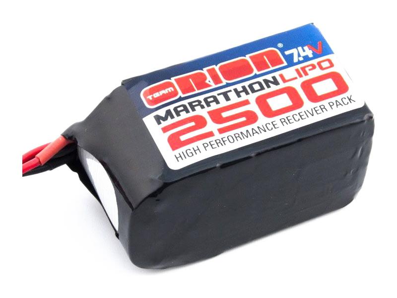 Team Orion LiPol Marathon 2500mAh 7.4V Hump ORI12259