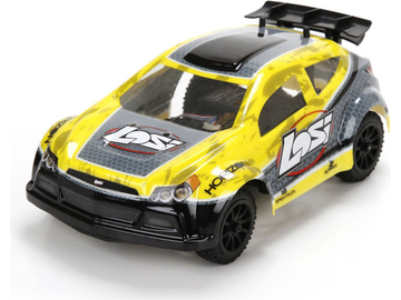 Losi Micro Rally-X 1:24 4WD RTR žlutá / LOS00002IT2