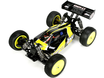 Losi Mini 8IGHT 1:14 4WD Brushless černá RTR / LOSB0224IT1