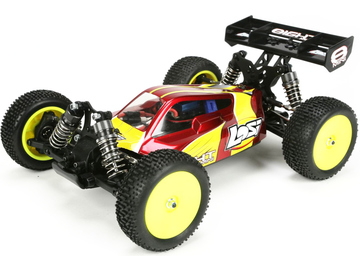 Losi Mini 8IGHT 1:14 4WD Brushless červená RTR / LOSB0224IT2