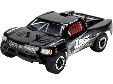 Losi Micro-Short Course 1:24 4WD RTR černý / LOSB0240IT4