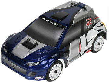 Losi Micro-Rally Car BL 1:24 4WD RTR modrý / LOSB0243IT1