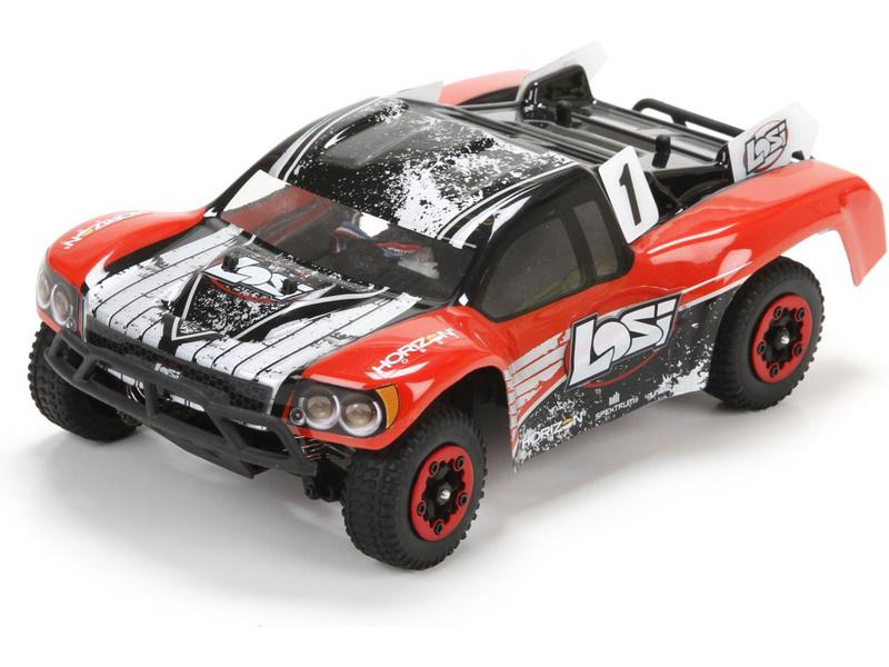 Losi Micro SCTE 1:24 4WD BL RTR červená LOS00001ICT1