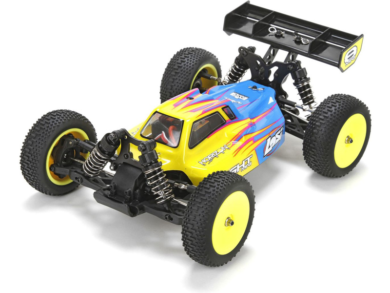 Losi Mini 8IGHT 1:14 4WD Bl AVC RTR modrá LOS01004IT1