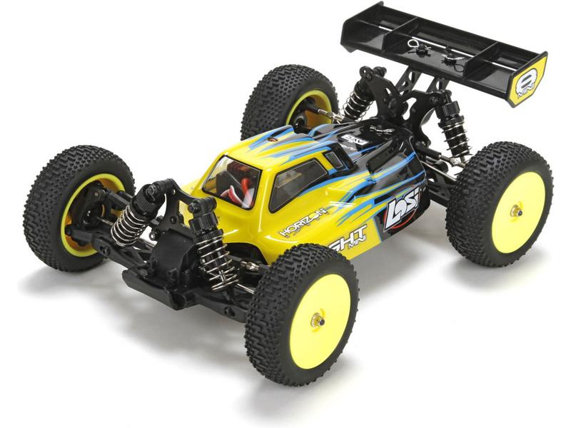 Losi Mini 8IGHT 1:14 4WD Bl AVC RTR černá LOS01004IT2