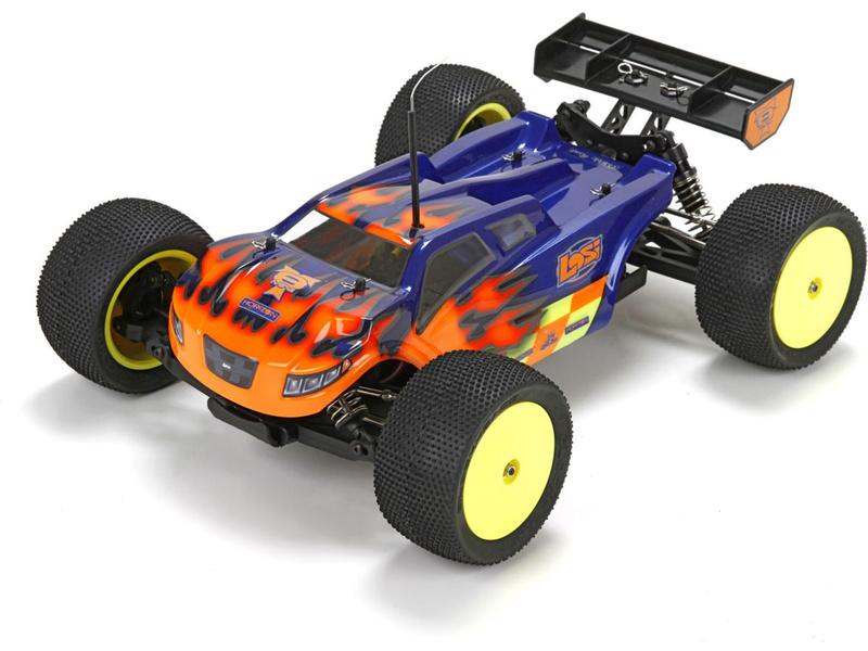 Losi Mini 8IGHT-T 1:14 4WD BL Truggy RTR Phend LOS01011I