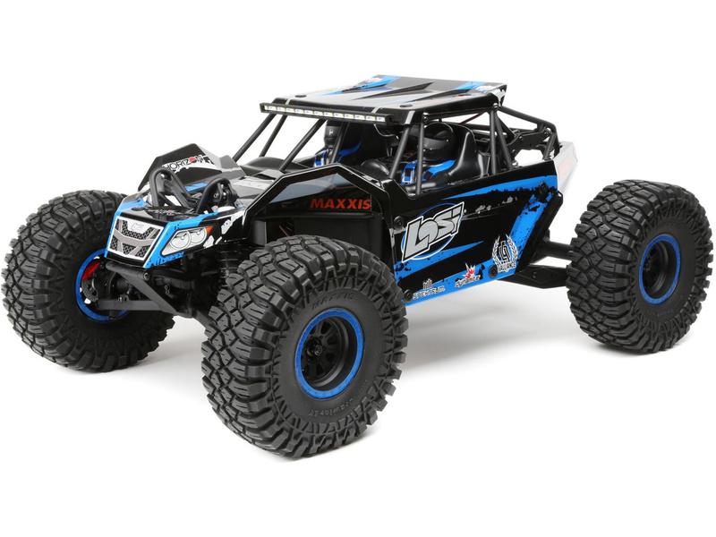 1:10 Losi Rock Rey RTR AVC 4WD modrá