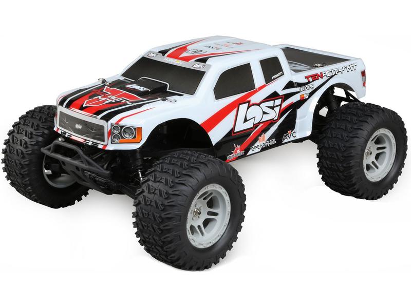 Losi Tenacity Monster Truck 1:10 4WD AVC bílá