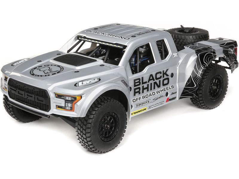 Losi Ford Raptor Baja Rey 1:10 4WD RTR Black Rhino