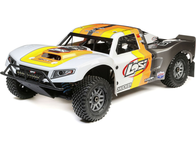 Losi 5ive-T 2.0 1:5 4WD SCT BND šedá/oranžová/bílá