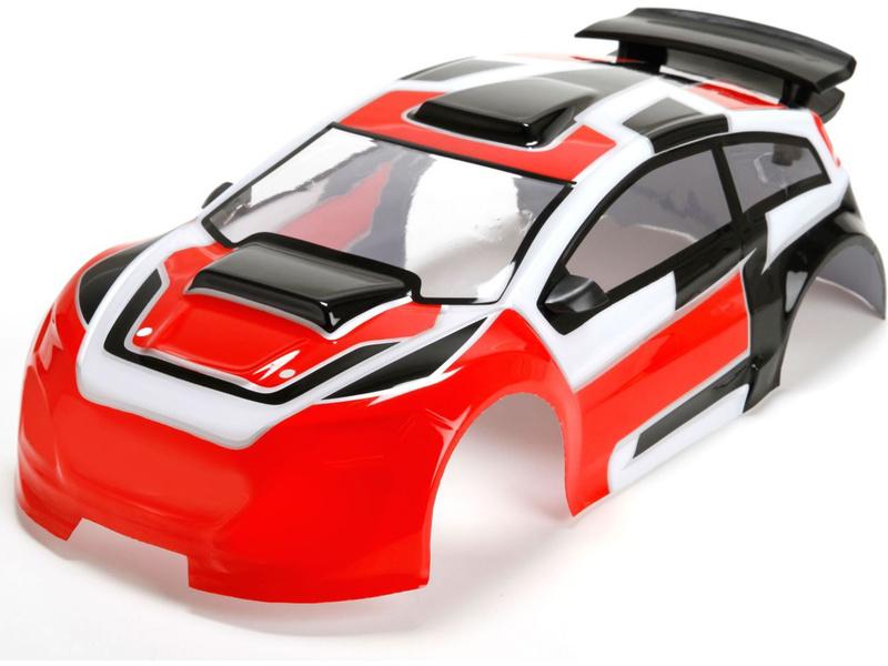 Mini Rally: Karosérie nabarvená LOS210006