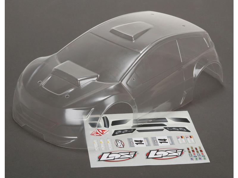 Mini Rally: Karosérie nenabarvená LOS210007