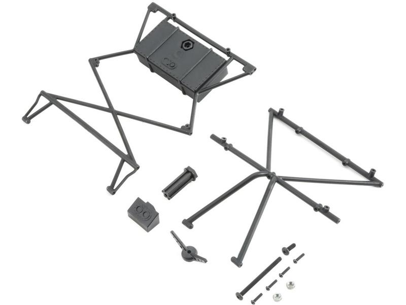 Losi Baja Rey: Horní příčka, držák kola LOS230011