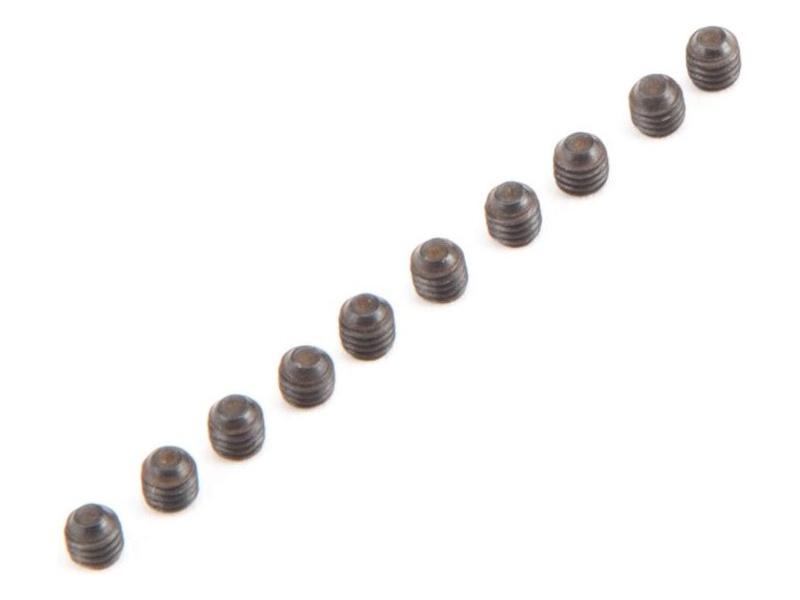 Losi: Šroub Cup Point M3 x 3mm (10) LOS235011