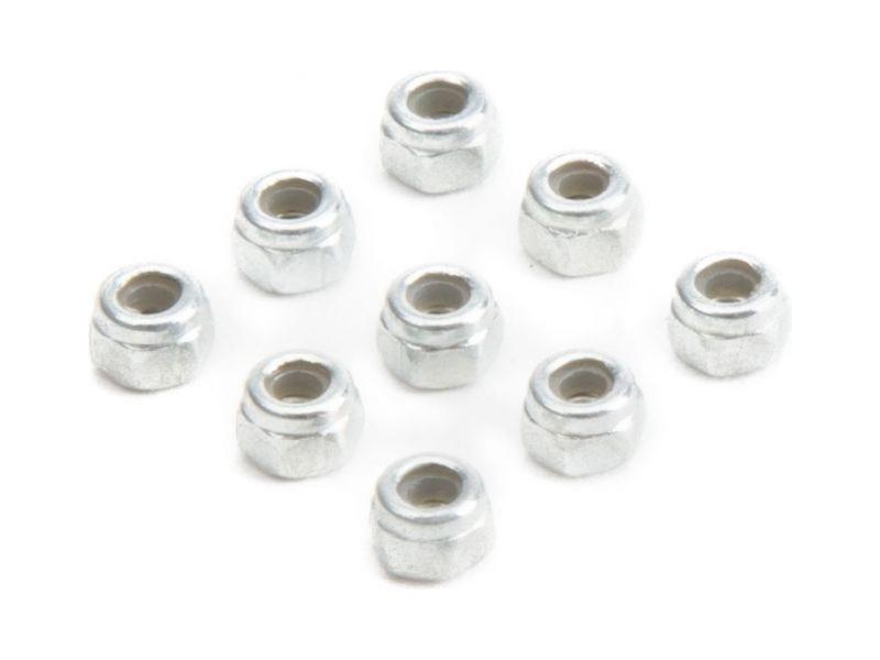 Losi: Matice pojistná M2 x 0.4 x4mm (10) LOS235014
