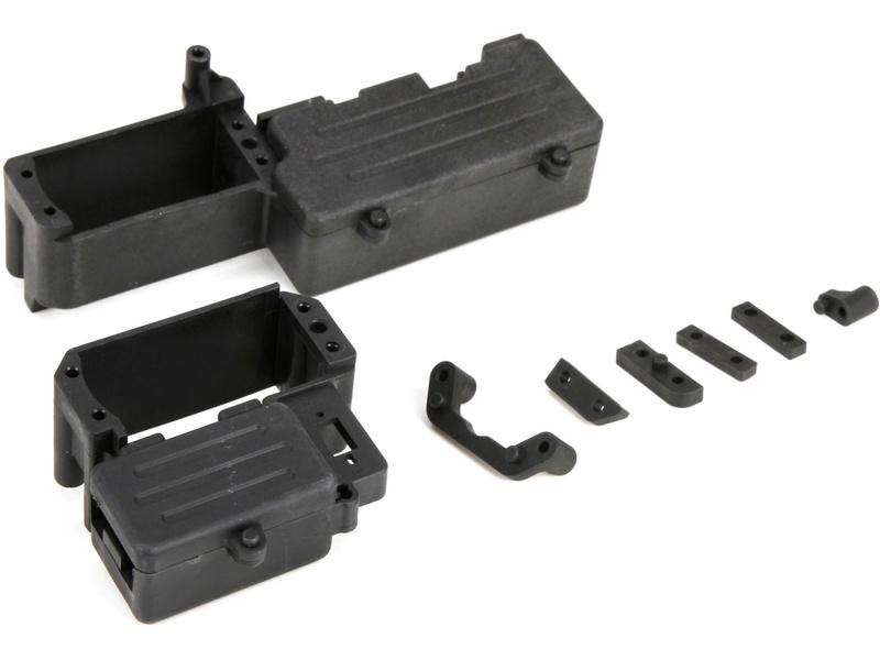 DBXL 1:5: Deska RC výbavy + držák nádrže LOS251012