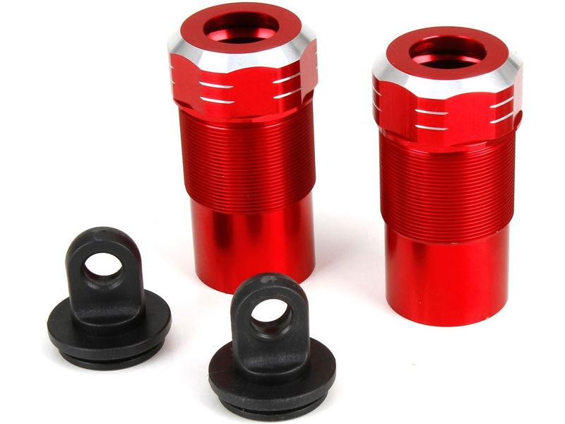 DBXL 1:5: Krytka tlumiče hliník p/z (2) LOS253004